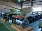 T-34 was fitted with diesel engine V-2